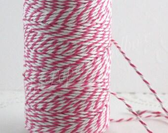 Pink Baker's Twine, 10 yards, Cotton Twine