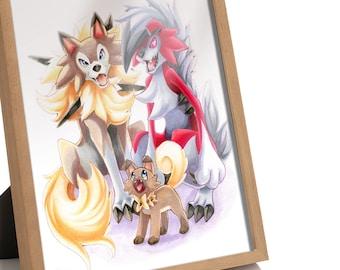Lycanroc family