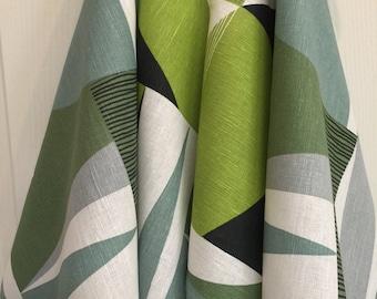 Linen Towels Dish Towels Tea Towels Kitchen Decor Set 2 Print Fabric Guest Hand Towels