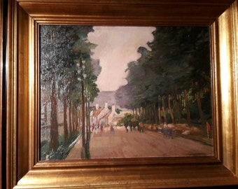 Unknown street oil picture