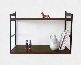 Mid Century Shelves Wall Shelves by Schuberth Werk Braunschweig West Germany
