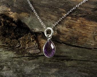 Amethyst Spirit Stone Necklace