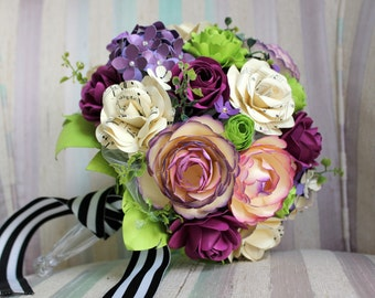 Sheet music paper bouquet - Made to Order