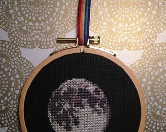 Moon Cross Stitch