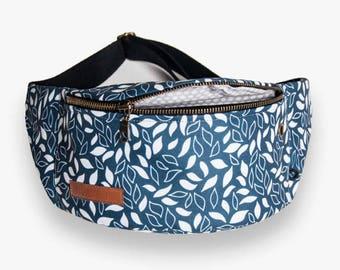 meadow Fanny Pack, Waist Bag, Bum Bag, Hip Pouch, Belt Bag, Custom Made, Slow Fashion