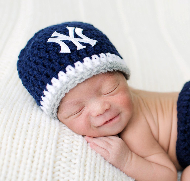 Baby Yankees Hat Baby Girl Hat Baby Boy Hat Yankees