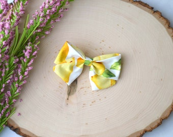 Lemon Sailor Bow