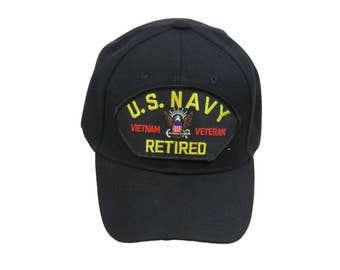 US Navy Vietnam Veteran Retired Cap