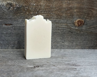 Pure, natural SOAP unscented, goat milk and shea butter