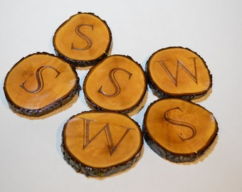 wood coasters personalized