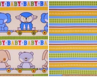 Tie Blanket Kit Nursery Baby Fabric FLEECE 100% Polyester