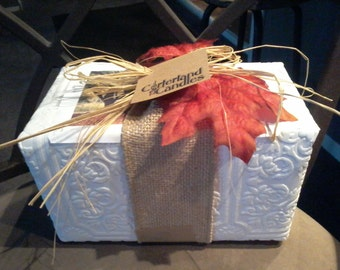 Gift Wrap Option for Love Log Candles