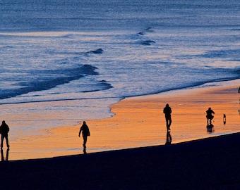Sunset Brighton Beach UK