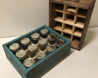 Stackable Mason Jar Canning Crate