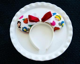 Mickey Ears Headband, Disney Princess, Emoji Ears, Mickey Mouse Ears, Minnie Ears, Minnie Mouse Ears, Disney Ears