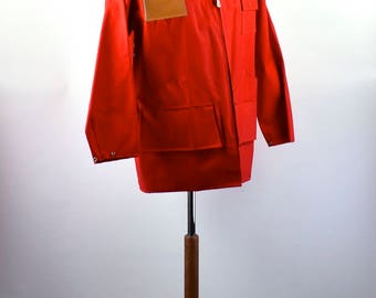 1960's Weatherite Hunting Raincoat, Size Small, Made in Japan