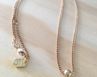 HOC Dainty Moon Beam Necklace