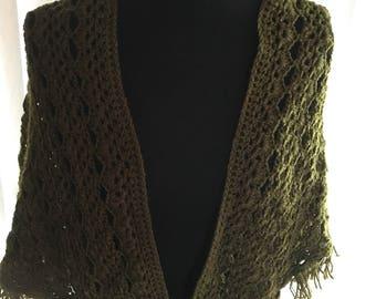 Shawl wrap crochet Acrylic