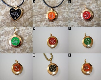 Zodiac Locket Pendant - Necklaces, Keychains and Chokers - SELECT STYLE