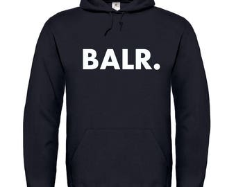 BALR Soccer Football Hoodie Best Gift Sweater Pullover Top New 2018