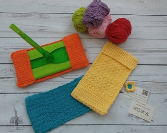 Crochet Swiffer Cover Set of 3 Handmade Crocheted cotton swiffer covers Reusable Eco-friendly cover wet or dry mopTeachers Mother's Day gift
