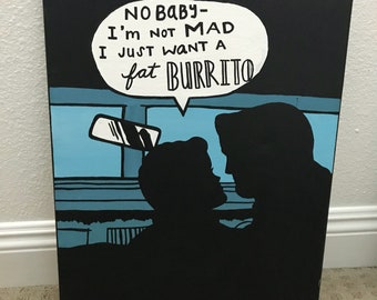 Can't go wrong with a fat burrito