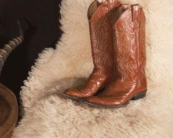 70's Justin Boots 6.5