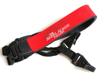 Red Camera Strap//Ansel Adams Gallery Strap//Padded Strap