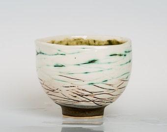 HIRICAMA - Porcelain bowl, unique, handmade, OOAK