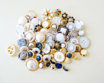 Fancy Decorative Buttons Lot, Pirates Booty Mix