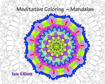 50 page Mandala Coloring Book