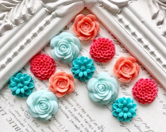 Bright Flower Magnets or Pushpins, Decorative Magnets or Pushpins, Very Strong Magnets, Floral Magnets, Fridge Magnets, Decorative Pushpins