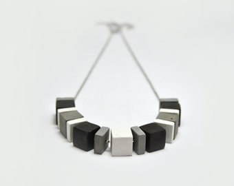 Concrete Jewelry | Concrete Necklace | Cement Jewelry | Contemporary necklace | Geometric pendant | Modern Jewelry | Minimalist Jewelry