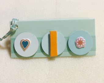 Initial Letter Gift Tags