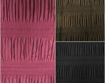 Rayon Spandex Knit Textured Fabric