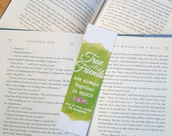 Anne of Green Gables / Avonlea - True Friends are always together in spirit - Bookmark
