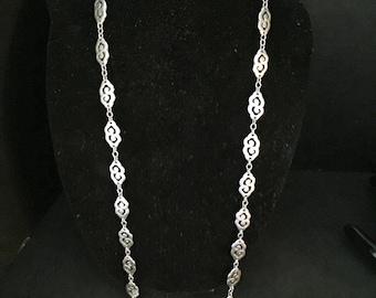 Vintage Trifari Silver necklace