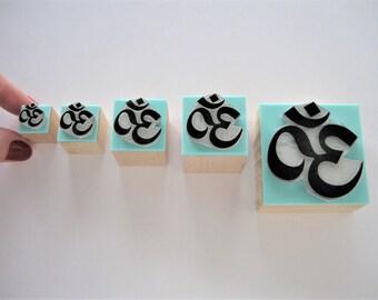 OM Rubber stamp. Om Stamp. Om symbol stamp. Yoga rubber stamp. Yoga Stamp. Mantra rubber stamp. Mantra Stamp. Sanskrit stamp. Namaste stamp