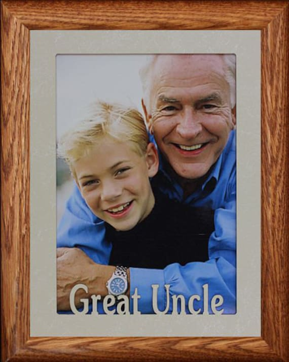 5x7 JUMBO ~ Great Aunt, Great Uncle, Great Niece or Great Nephew ...