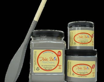 Dixie Belle Hurricane Gray chalk mineral paint