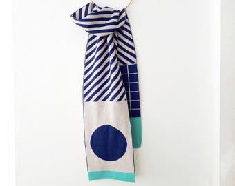Scarves for men, Super soft scarf, Merino Wool Scarves for women, Cozy Scarf, Wool Knitted Merino, Scarves for men, Quality Scarf