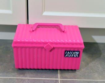 Vintage Hot Pink Caboodle Make up case