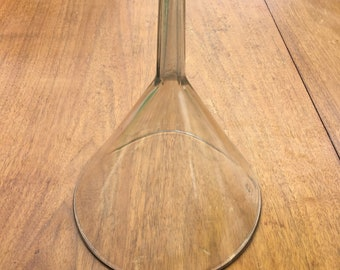 Old Antique Glass Funnel