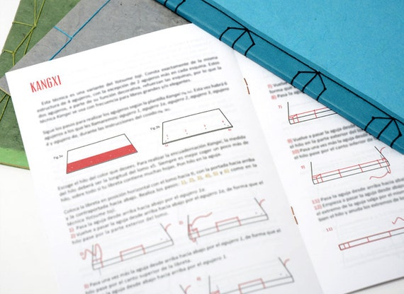 Diy japanese book binding kit in english includes diy japanese book binding kit in english includes illustrated tutorial do it yourself solutioingenieria Choice Image