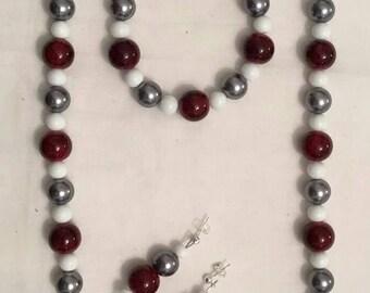Crimson, Gray, and White (#38)
