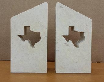 Texas Limestone Bookend - FREE SHIPPING