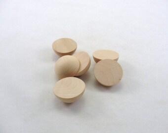 """Split wooden ball 1 1/2"""" set of 6"""
