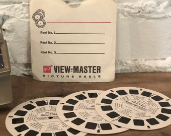 Vintage View-Master Stereo Reels - The True Story of Smokey Bear