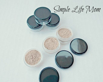FOUNDATION POWDER SAMPLE, 5g natural, loose, organic, clay mineral foundation, natural makeup, concealer