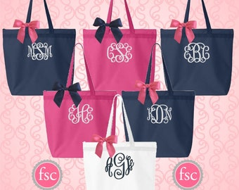 NEW!  Cheap bridesmaid gifts ,bridal party tote bags , bridesmaid gifts , tote bags , beach bag, bachelorette party gifts , teacher gifts